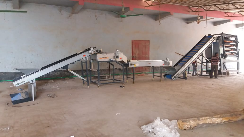Salamin Foods: processing line installed, storage room upgraded and staff trained!